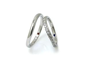 細くて短い指に似合う指輪3