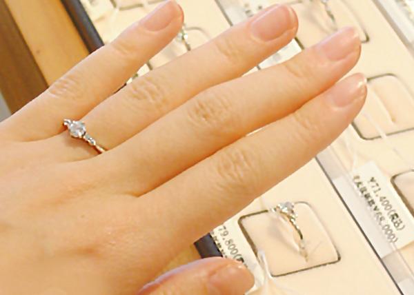 指輪のデザインを選ぶImage