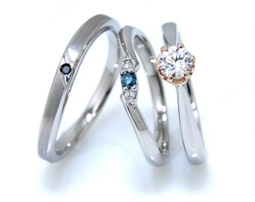 (婚約指輪)&マリッジリング ...