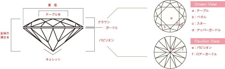 プロポーション(形)解説図1